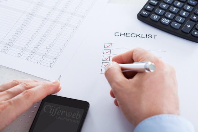 Checklist Startende ondernemer
